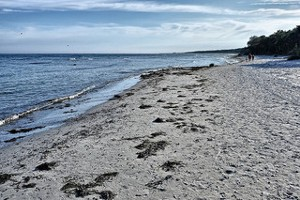 Sandstrand på Bornholm